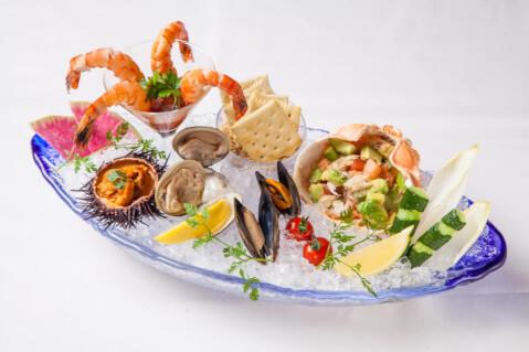 恵比寿 ディナー イタリアン MAIMON シーフードプラッター