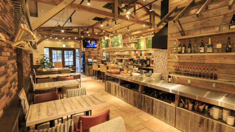 海浜幕張 Spanish Italian Azzurro520+caffe -costa de terrazza- おすすめランチ