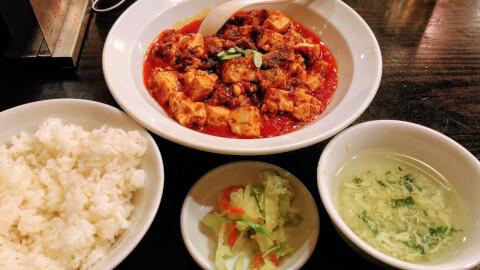 新宿 ディナー 麻辣王豆腐 中華料理
