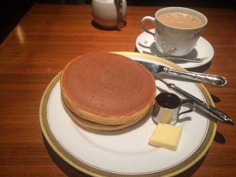 丸福珈琲店 上本町 ランチ おすすめ カフェ ホットケーキ