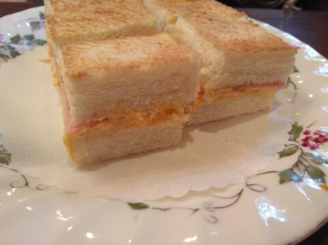 丸福珈琲店 上本町 ランチ おすすめ カフェ サンドイッチ