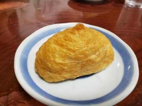 愛媛 松山 ランチ 松山市中心部 鍋焼きうどんアサヒ いなりずし