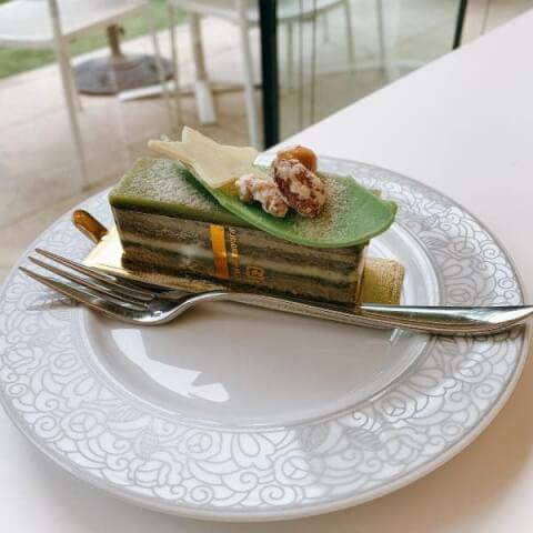 目黒カフェ カフェ庭園 ケーキ