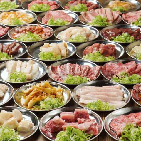 明昇苑の焼肉食べ放題