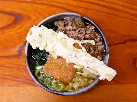よくばりうどん 天ぷら 麺許皆伝 上吉田