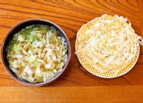 天ぷら 麺許皆伝 上吉田
