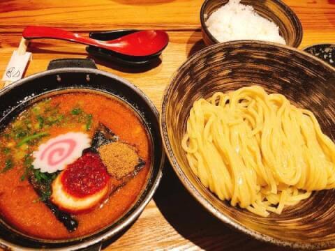 めんたいつけ麺の料理画像