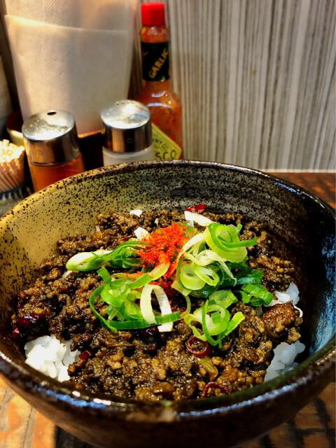 恵比寿 おすすめ ラーメン 瞠 黒ドライカレー