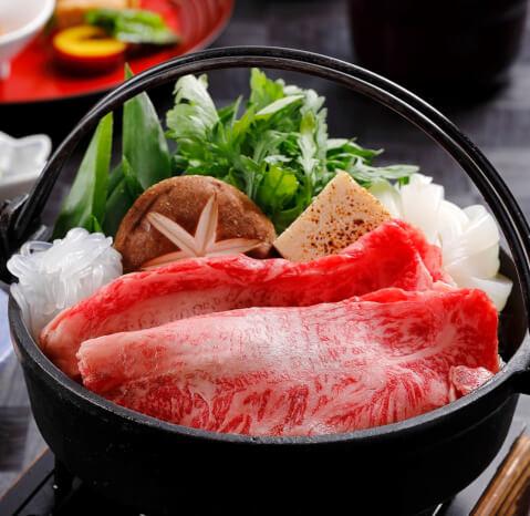 美濃吉のすきやき 京懐石美濃吉 横浜ランドマークプラザ店 横浜 みなとみらい ディナー おすすめ 和食