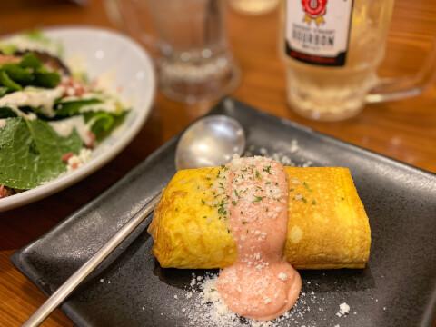 渋谷 居酒屋 ミライザカ 出汁巻き明太チーズ