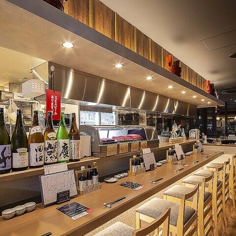名古屋 居酒屋 名駅 光蔵 日本酒 カウンター
