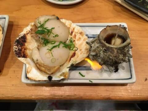 炉ばた焼 水かけ茶屋 難波 居酒屋 JR難波 近鉄難波 安い 海鮮 魚介 和食