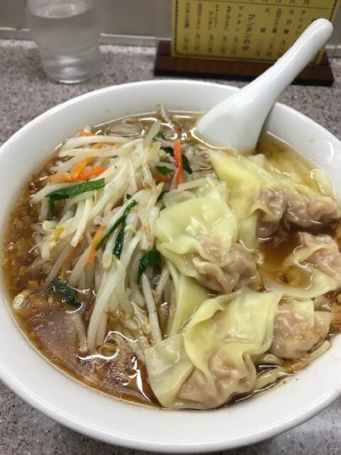 もやしワンタン麺
