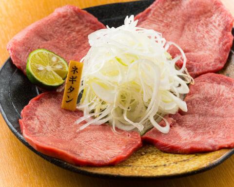 渋谷 焼肉 永秀 ネギタン塩