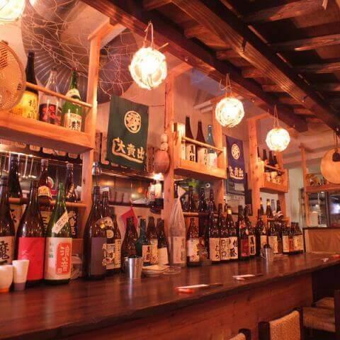 名古屋 居酒屋 栄 矢場町 海の日 日本酒