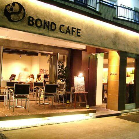 BOND CAFE外観