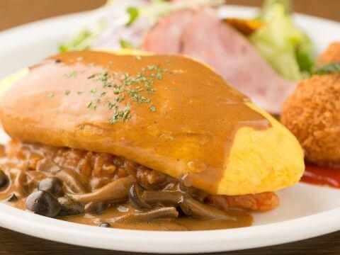 オムライス 洋食家 ロンシャン JR名古屋駅店 ランチ おすすめ 安い