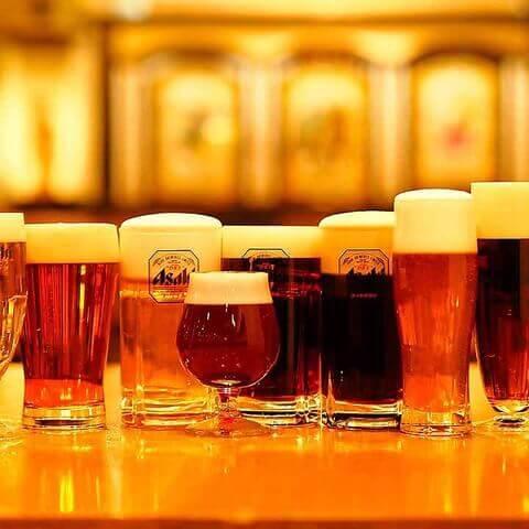 名古屋 居酒屋 名駅  ビアホール アサヒビール名古屋 世界のビール