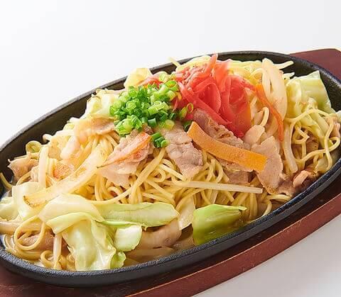 名古屋 名駅 居酒屋 ビアホール アサヒビアレストランスーパードライ名古屋 野菜たっぷりあんかけ焼きそば