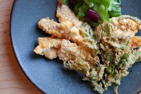 名古屋 名駅 居酒屋 ビアバー 7DAYS Craft Kitchen 本日の鮮魚と季節野菜のフリット