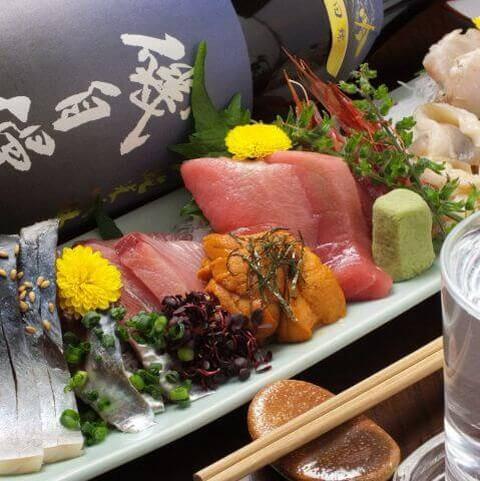 赤羽のおしゃれで安いおすすめの居酒屋、個室で海鮮、おでんと旬菜魚中々