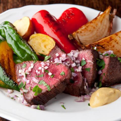 六本木 フレンチ ディナー レストラン 喃喃 ステーキ 有機野菜