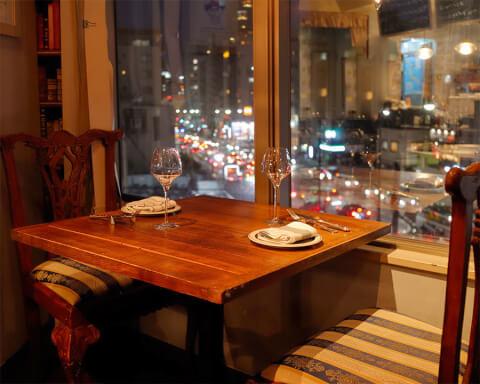六本木 フレンチ ディナー レストラン 喃喃 デート 夜景
