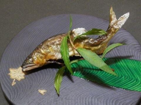 菜の介の天然鮎 菜の介 嵐山 おすすめ ランチ おばんざい