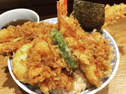 金子天丼1