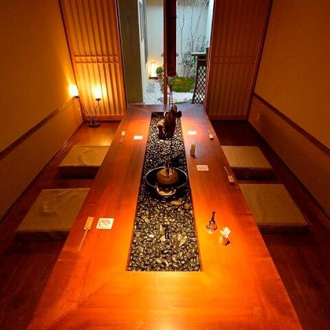 名古屋 居酒屋 小料理屋 名駅  那古野 日本酒バル いろり 庭園付き個室