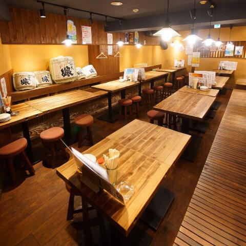 五反田  居酒屋  肉十八番 オススメ テーブル席 女子会 宴会 ファミリー