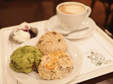 スコーン 人間関係 cafe de copain 渋谷 おすすめ カフェ おしゃれ デート 女子会