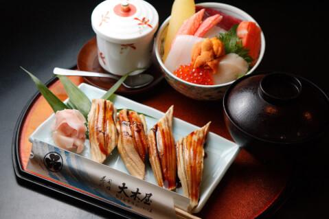 豊橋 ランチ 大木屋鮨 穴子寿司 海鮮丼
