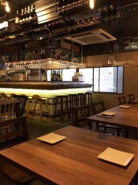 中野のおしゃれで安いおすすめ居酒屋、女子会に人気のオルガニコ