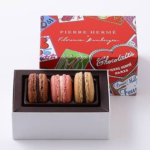 pierreherme ビエール エルメ パリ バレンタイン チョコレート  友チョコ