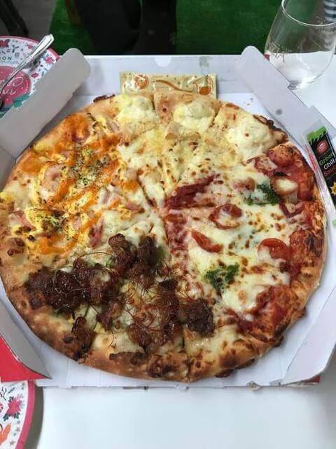 ピザハット料理画像
