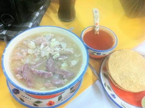 ポゾーレ_メキシコ料理