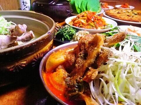 韓国家庭料理 扶餘 仙台 ランチ おすすめ