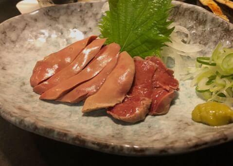 レバ刺し 炭火焼 鶏奈緒 上野 居酒屋 焼き鳥 おすすめ