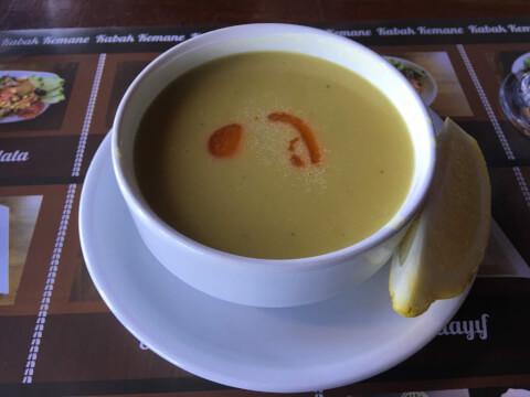 レンズ豆スープ