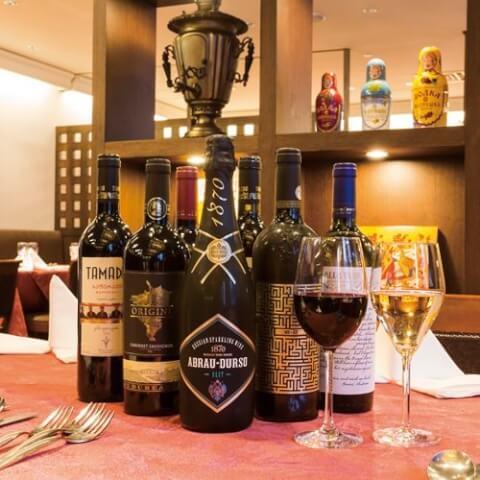 銀座のおしゃれで安いロシアディナー、個室つきで誕生日や記念日デートにおすすめのロゴスキー