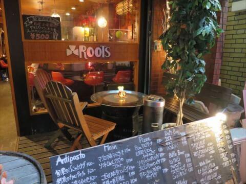 横浜 居酒屋 洋食屋Dining&Bar Roots おしゃれな店内