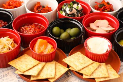 六本木 ディナー 韓国料理 六本木MUN タパス