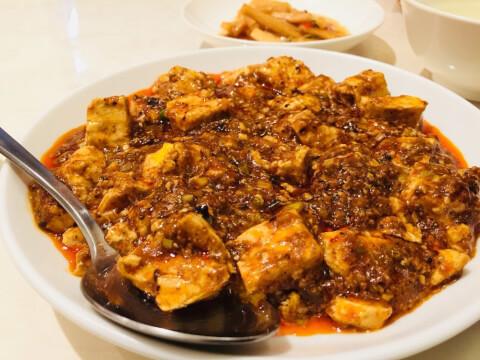 龍の子 麻婆豆腐ランチ