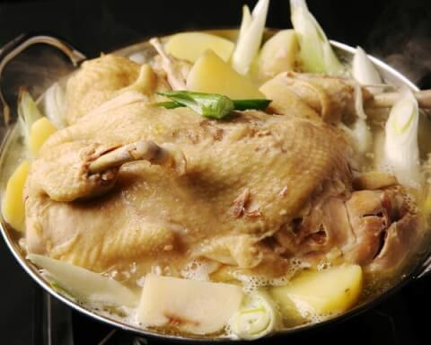 田町 居酒屋 ふもと赤鶏 タッカンマリ鍋 ヘルシー 鍋