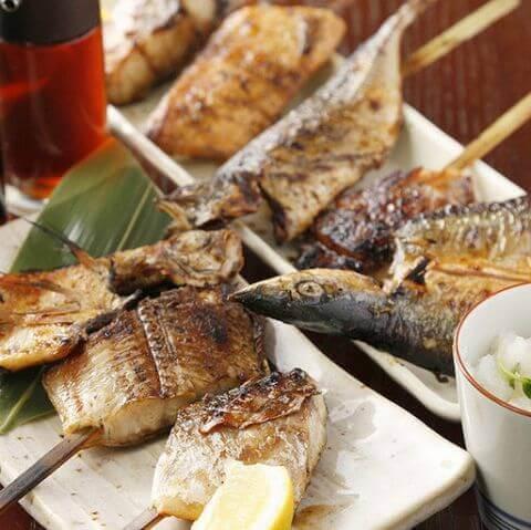魚串焼き 白銀屋