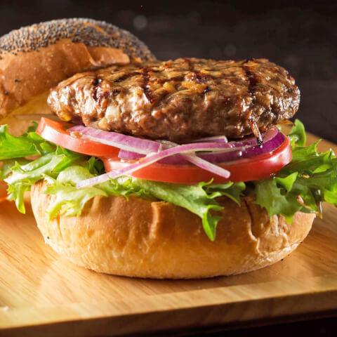 新宿 肉ランチ THE SAKURA DINING TOKYO ハンバーガー
