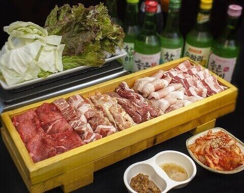 韓国料理 マニト おすすめ サムギョプサル 新大久保