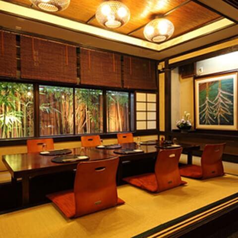 浜松町 ディナー 和食 碗宮 座敷 接待 会食 記念日