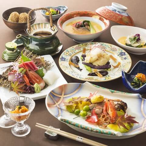 浜松町 ディナー 和食 花山椒 芝パークホテル 会席料理